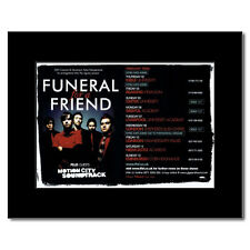 FUNERAL FOR A FRIEND - UK Tour 2006 Mini Poster