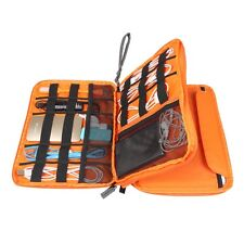 Universal Double Layer Travel Gear Organizer / Electronics Accessories Bag Case