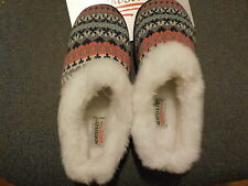 AEROSOLES SLIPPERS LADIES SIZE S 5-6  NWT SOFT COZY PINK BLUE GREY