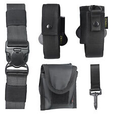 Accessories & Pouches for Duty  Shooter  Police  Security  Tactical Belt