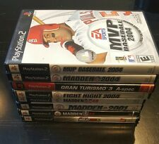 (8) PlayStation 2 Game Lot (USED)