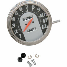 """Drag Specialties Speedometer for Harley-Davidson DS-243884 12mm 5"""" Each 2240:60"""