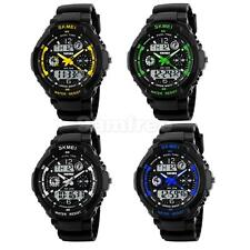 Mens Analog Digital LED Date Day Military Army Sport Alarm Quartz Wrist Watch