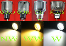 9W/12W MR16/GU10/GU5.3/E27 COB Led Bulb Lamp lights White/Warm/Naturally white