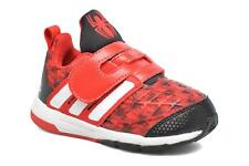 Kids's Adidas Performance Marvel Spider-Man Cf I Velcro Trainers in Red