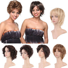 Natural Long Curly Full Wigs Heat Resistant Synthetic Wig For Women Ladies Pop
