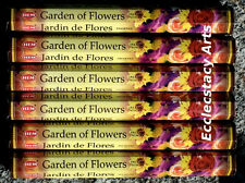Hem Garden of Flowers Incense 20-40-60-80-100-120 Sticks You Pick Amount {:-)