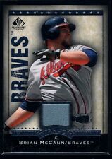 BRIAN MCCANN $15+ YANKEES GAME USED JERSEY PATCH 2008 SP LEGENDARY CUTS BRAVES