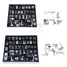 32/42 PCS Domestic Sewing Machine Foot Presser Walking Feet Set Tools  with Case