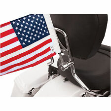 """Pro Pad American Flag/Flag Mount Round/Sissy Bar Natural 5/8""""/6"""" X 9"""" Stainless"""