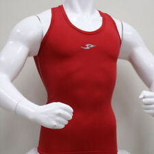 Skin Tight Gear Mens Compression 074 Sports Top Red