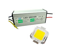 50W LED White Warm Chip+ Driver LED Waterproof Constant Current Power Supply