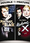 Portrait in Black / Madame X - Lana Turner Double Feature - DVD - Anthony Quinn