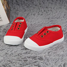 New High Quality Cute Toddlers Kids Girls Boy Candy-colored Canvas Shoes AK