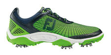FootJoy Junior Hyperflex Golf Shoe Navy/Electric Green 3 Junior