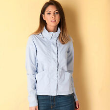Womens Bench Easy Cotton Jacket In Blue From Get The Label