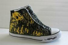 Ed Hardy Kids Children Shoe Size 2 / 3 M Athletic Canvas Green Sneaker