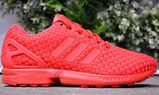 ADIDAS ZX FlUX WOVEN MENS SHOES TRAINERS SNEAKERS RUNNING SHOES TORSION Red