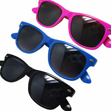 Childs Childrens Kids Wayfarre Aviator Sunglasses Shades -  Pink Blue or Black