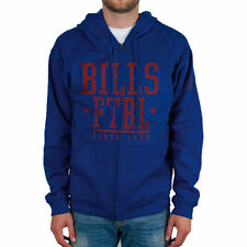 Buffalo Bills Front And Sleeve Full Zip Jacket - Royal Blue - NFL