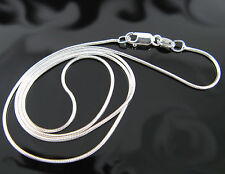 """.925 Sterling Silver 24"""" 1.00mm Snake Chain Necklace !!"""