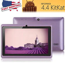 """7"""" HD Unlocked Tablet PC 8GB Wi-Fi Quad Core Android 4.4"""" Tablet 2 camera"""