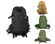 1000D Tactical Military Combat Molle Assault Backpack Hiking Camping Hunting Bag