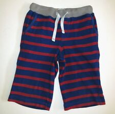 Mini Boden boys knit baggies bermuda long shorts crop pants capri beach deck 5Y