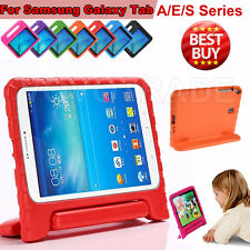 Kids Shock Proof EVA Foam Handle stand Case Cover For Samsung Galaxy Tab A/E/S