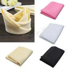 "10PCS Polyester Square 19""x19"" Table Napkins Cloth Wedding Party Kitchen Linens"