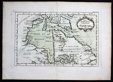 1764 - Hudson Bay Canada Labrador Bellin handcolored antique map