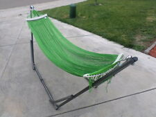 """indoor/outdoor adult Hammock swing bed med duty metal frame for adult up to 80"""""""