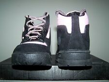 Girl's NEW Toddler Sized Reebok G-Unit Black Boots with Pink Trim