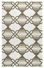 Rizzy Rugs Ivory Diamonds Lines Cubes Contemporary Area Rug Geometric CE9721