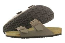 Birkenstock Arizona 151181 Mocca Birko-Flor Sandals Slippers Germany Unisex