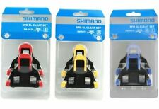 Shimano SM-SH10/11/12 Cleat set 2/6 degree Float SPD-SL Road Bike Pedal Cleats