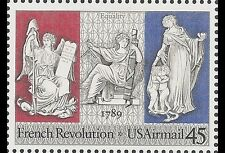 US #C120 MNH French Revolution joint issue/France