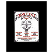 FRANK TURNER - UK Tour December 2010 Mini Poster
