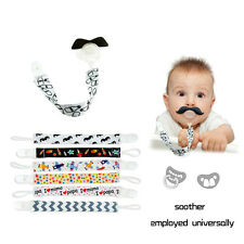 Baby Kid Chain Clip Holders Boy Girl Dummy Pacifier Soother Nipple Leash Strap U