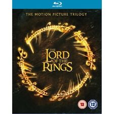 The Lord of the Rings Trilogy Theatrical Edition Box Set Blu-ray Brand New