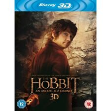 The Hobbit An Unexpected Journey UV + Blu Ray + 3D Blu Ray Brand New