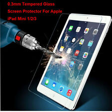 Lot Clear/Matte/ Tempered Glass Screen Protector Film For Apple iPad Mini 1 2 3