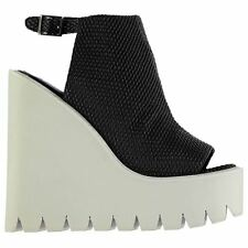 Jeffrey Campbell Womens Barclay Shoes Summer Casual Platform Wedges