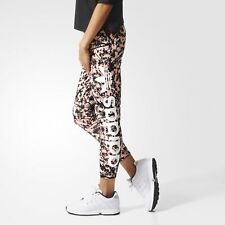 adidas Originals Women's Trefoil Print Soccer Leggings Floral print 7/8 Length