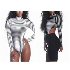 Rompers Womens Jumpsuit Sexy Backless Bodycon Bandage Jumpsuit Short Bodysuit