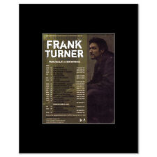 FRANK TURNER - UK Tour May 2011 Mini Poster - 10x13.5cm