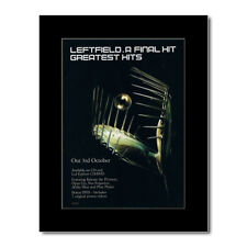 LEFTFIELD - A Final Hit Greatest Hits Mini Poster