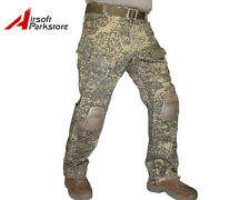 EMERSON Tactical Military G3 Pants Army Combat Trousers w/Knee Pads Badland Camo
