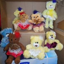 New little Dance bear with tutu Each  unique Great gift idea for your dancer