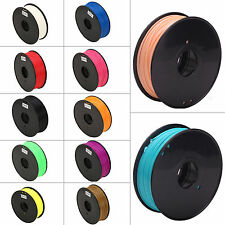 2.2LB Flexible 3D Printer Filament ABS PLA HIPS 3mm 1.75mm for RepRap MarkerBot